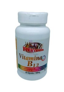 Vitamina B12 500 mg 60 caps - Rei Terra
