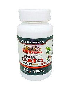 Unha de Gato com Uxi Amarelo VEGAN 500 mg 60 caps - Rei Terra