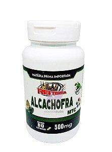 Alcachofra VEGAN 500 mg 60 caps - Rei Terra