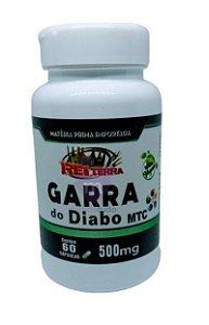 Garra do Diabo VEGAN 500 mg 60 caps - Rei Terra