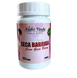 Seca Barriga com Goji Berry 500mg 120 cáps - Ninho Verde