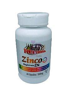 Zinco 500 mg 60 caps - Rei Terra