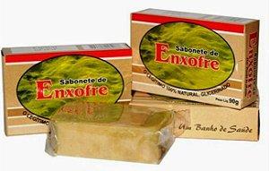 Sabonete de Enxofre 90g - Kit com 4 unidades