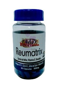 Reumatrix  500 mg 60 caps - Rei Terra