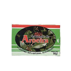 Sabonete Glicerinado de Aroeira para Limpeza de Pele - Kit com 4