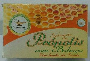 Sabonete Glicerinado de Própolis com Babaçu - Kit com 4
