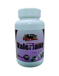Valeriana 500mg 120 caps - Rei Terra