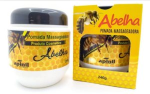 Pomada Massageadora de Abelha 240 g - Apinil