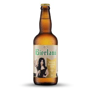Cerveja Artesanal Bierland Strong Golden Ale 500ml