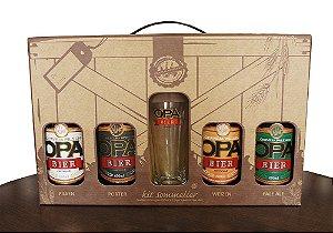 Kit Opa Bier 4 Cervejas + Copo Especial