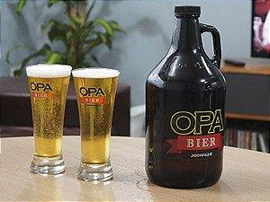 Growler Opa Bier de 1,9L de Vidro
