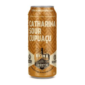 Cerveja Artesanal Schornstein Lata Catharina Sour Cupuaçu 473ml