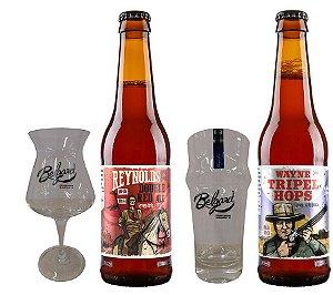 Kit Combo Cerveja Artesanal Belgard + Copo