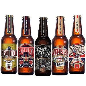 Kit Cerveja Artesanal Container 5 Cervejas