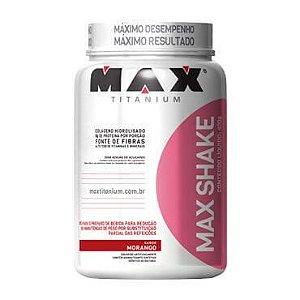 Max Shake 400 G Morango - Max Titanium
