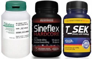 Combo Sineflex Hardcore + T_Sek + Dilatex - Power Supplements