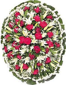 Coroa De Flores Brasília 8 | Faixa de Homenagem Grátis
