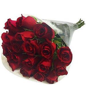 Pacote com 20 Rosas Nacionais