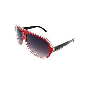 Óculos Solar Prorider Vermelho, Transparente e Preto Com Lente Degradê Fumê - GREGO193