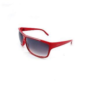 Óculos de Sol Prorider Vermelho com Lente Degradê Fumê - F11074-C1