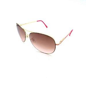 Óculos Solar Prorider Dourado Detalhado Com Lente Degradê Marrom - B88-136