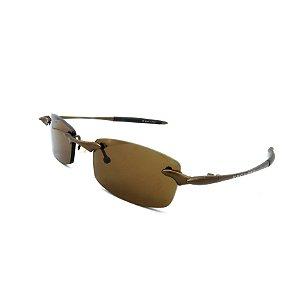 Óculos de Sol Prorider Retrô Marrom Fosco com Lentes Marrom - M2MINC
