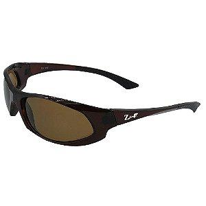Óculos de Sol Infantil ZJim Esportivo Marrom