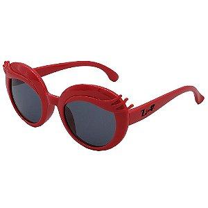 Óculos de Sol Infantil ZJim Silicone Oval Vermelho