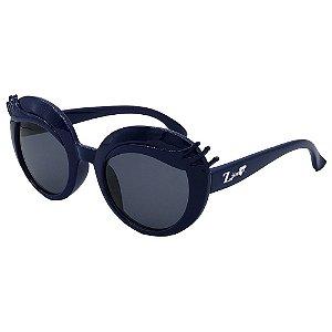 Óculos de Sol Infantil ZJim Silicone Oval Azul