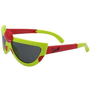 Óculos Infantil Zjim Abelha Verde e Vermelho