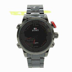 Relógio Prorider Dark face Grafite e preto - RLDPG15