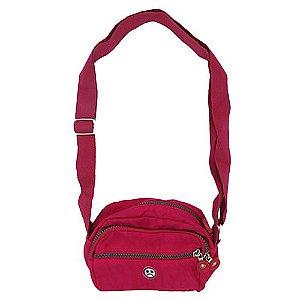 Shoulder Bag Dark Face Vermelha
