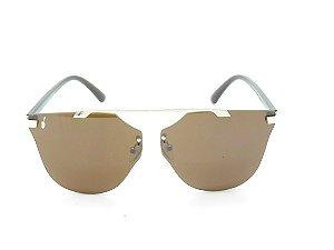Óculos Solar Prorider Dourado/Marrom - 3880
