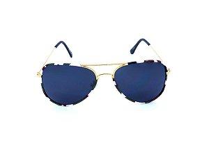 Óculos Solar Prorider Aviador Dourado com Camuflado - TRINIDAD