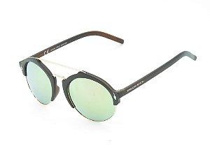 Óculos de Sol Prorider Marrom com Dourado - 3913