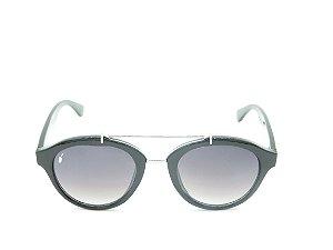 Óculos Solar Prorider Preto Fosco e Dourado Com Lente Degradê