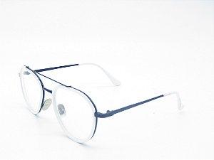 Óculos receituário Prorider Branco e Azul  4983