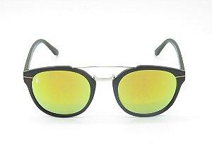 Óculos de Sol Prorider Marrom Fosco com Lente Espelhada Colors - 5236