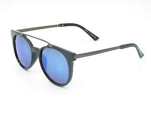 Óculos solar Prorider preto com lente azul 5240