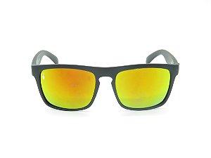 Óculos solar Prorider preto fosco com lente espelhada colors 5281