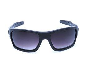 Óculos solar Prorider preto fosco com lente degrade 19805 e7a0b0e5ca
