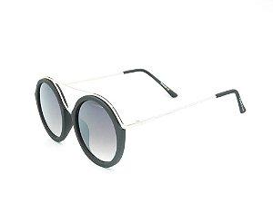 Óculos solar Prorider preto fosco com prata YD1689C6