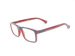 Óculos para Grau Prorider Vermelho com Preto Fosco - ZF8832