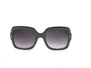 Óculos solar Evasolo preto com lente degrade 19846