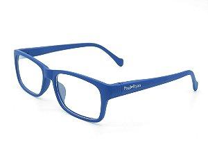 Óculos de Grau Paul Ryan Azul Fosco - 1037