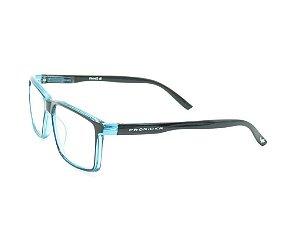 Óculos de grau Prorider preto e azul optyl FY100