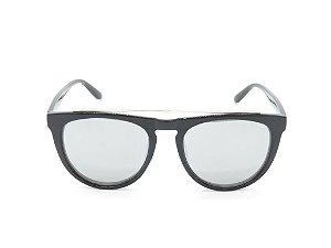 Óculos de Sol Prorider Preto com Detalhe em Prata - LM9293C1