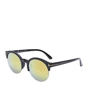Óculos de Sol Prorider Preto Fosco e Dourado com Lente Gradiente