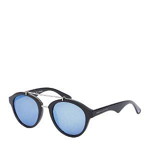 Óculos de Sol Prorider Preto Fosco com Detalhe Prata - YD1629C2