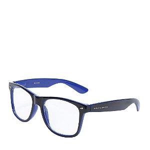 Óculos Receituário Prorider preto e azul BUKURA